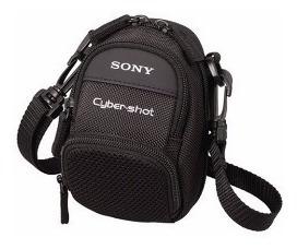 Estuche Sony Para Camara 14x11x8cm Con Correa Colgante Nuevo
