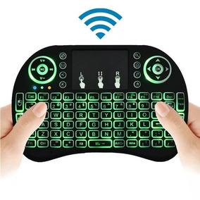Mini Teclado Keyboard Sem Fio Wireless Iluminado C/ Led