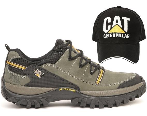 Sapato Masculino Caterpillar E Boné