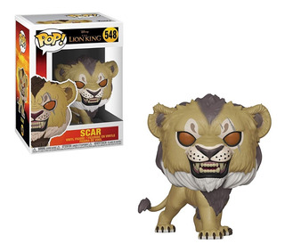 Figura Funko Pop Disney Lion King - Scar 548. Original