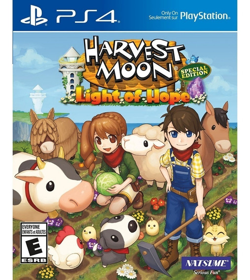 Harvest Moon Light Of Hope Special Edition Midia Fisica Ps4