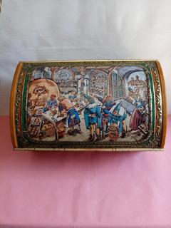 Lata Decorativa Antiga E.otto Schmidt