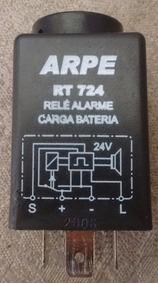 Relé Alarme Sonoro Sobrecarga Bateria 24v 40a Universal