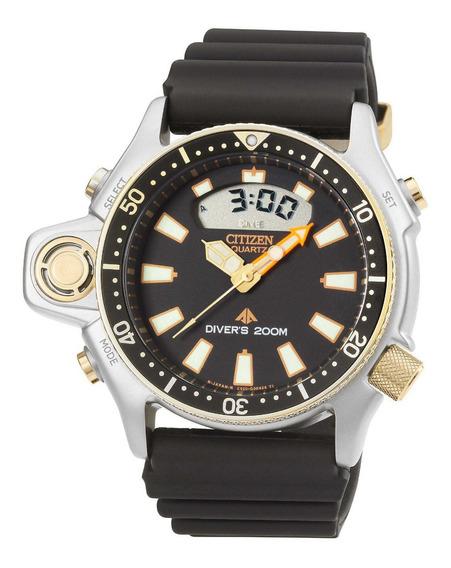 Relógio Citizen Aqualand Promaster Serie Ouro Tz10137p