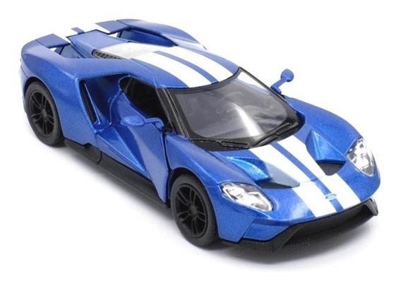 Auto Ford Gt 2017 Escala 1:36 Coleccion Maqueta Kinsmart