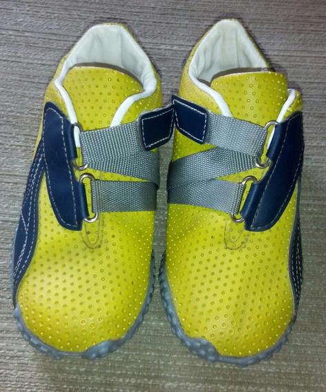 Zapatos Deportivos Microtacos Para Niños Talla 26 Nuevos. 5&