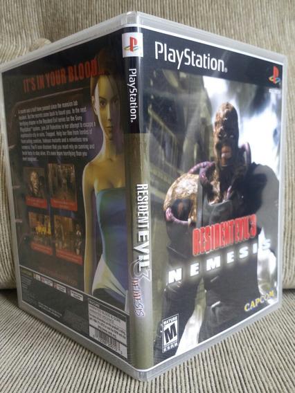 Resident Evil 3 Dublado Para Playstation 1 - Patch