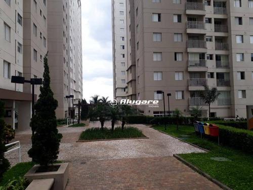 Apartamento Com 2 Dormitórios À Venda, 49 M² Por R$ 255.000,00 - Ponte Grande - Guarulhos/sp - Ap2367