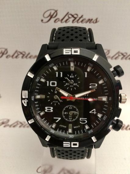 Relógio De Pulso Esporte Silicone Saat Zegarek Meski K2505
