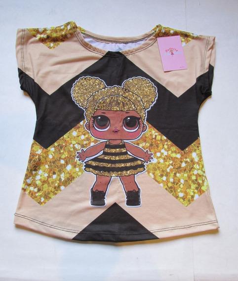 Blusa Infantil Lol Queen Bee Lol Rara Boneca Lol