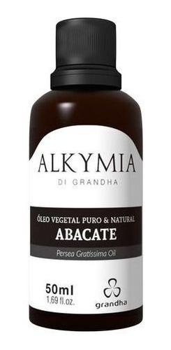 Imagem 1 de 8 de Grandha Alkymia Óleo Vegetal De Abacate 100% Puro  50ml