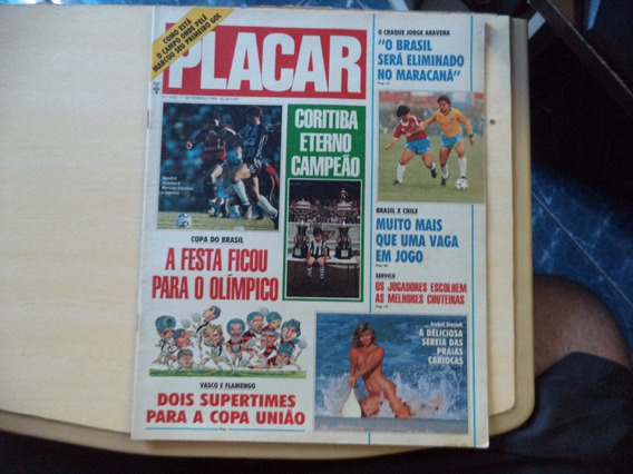 Coleção De Revista Placar Dos Anos 90 - Faça Sua Consulta