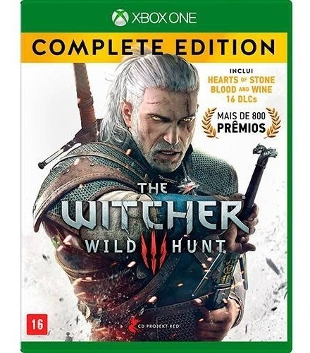 Game The Witcher 3 Wild Hunt Edição Completa Xbox One