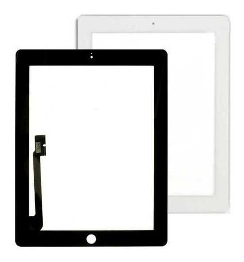 Vidro Tela iPad 2/ 3 Touch Screen Preto E Branco Trocado