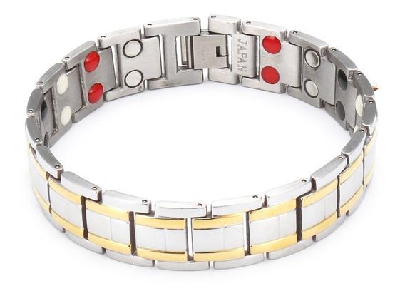 Bracelete Terapêutico Força Equilíbrio - Detalhes Ouro 18k