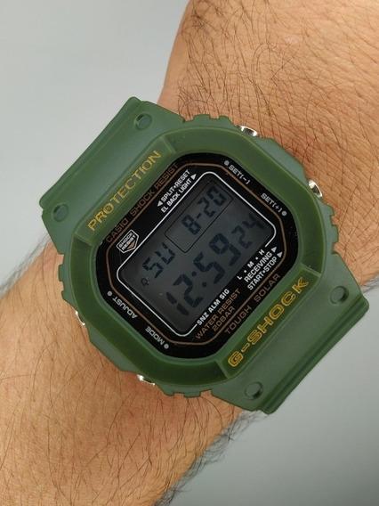 Relógio G-shock Quadrado Verde Militar