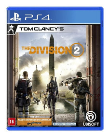 The Division 2 Ps4 Mídia Física