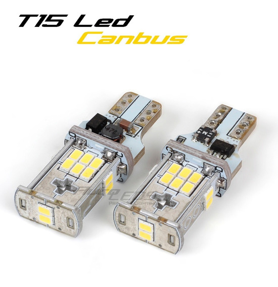2x T15 Led 3020 Chip Super Potentes