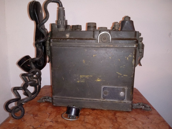 Antiguo Equipo De Comunicación Militar