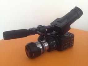 Sony Nex Fs 100 Uk - Com Case Rigido E Acessórios