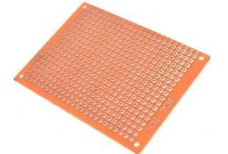 Placa Pcb Perforada Una Capa 5x7cm / Electroardu