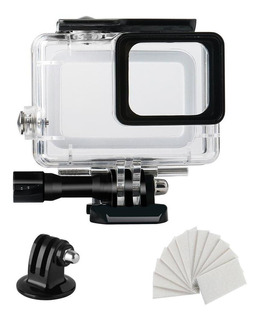 Para Gopro Hero 5 6 7 Negro Claro Buceo Caso Impermeable Ant