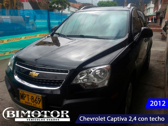 Chevrolet Captiva 2,4 Ls Con Sunroof