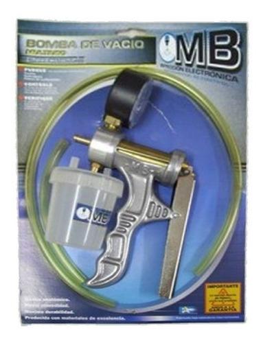 Bomba Vacio C/ Manometro Mb Multiuso Profesional Soft Taller