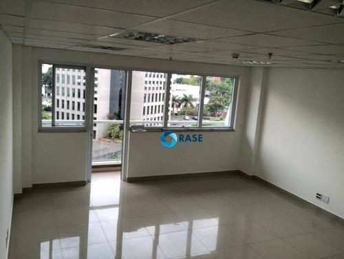 Sala Para Alugar, 42 M² Por R$ 1.500,00/mês - Vila Andrade - São Paulo/sp - Sa0110