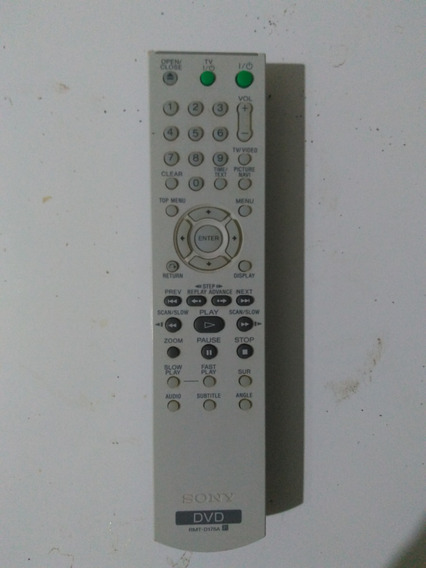 Controle Sony Dvd - Ultima Unidade