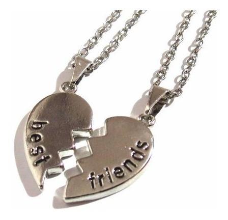 Colar Amizade Best Friends Melhores Amigas 2 Partes - B3
