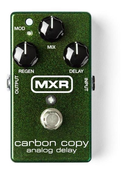 Pedal Delay Mxr M169 Carbon Copy Delay Analog Pronta Entrega