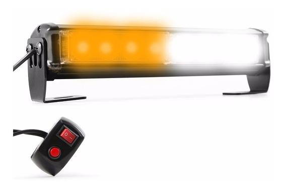 Giroflex Moto Oficial Strobo 8 Leds 5 Efeitos Flash 24w 12v