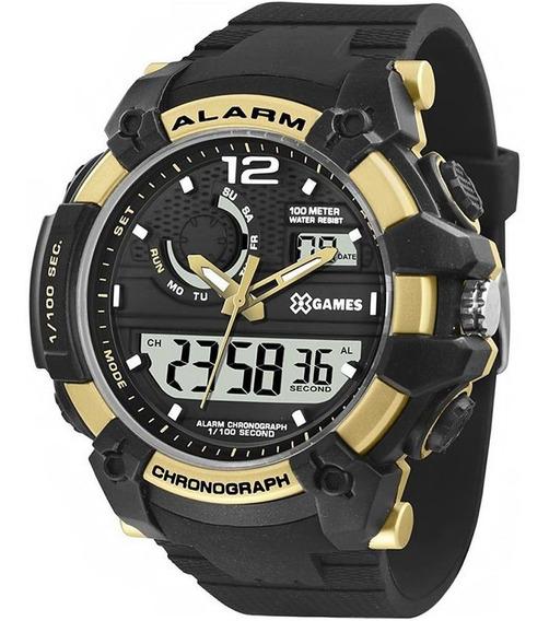 Relógio Masculino Xgames Anadigi Xmppa271 Bxpx Barato