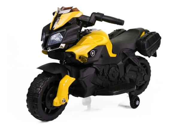 Moto A Bateria Niño 6v 2 Ruedas 30kg Musica Cartuchera 3009