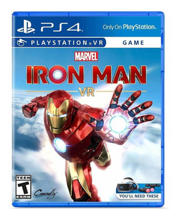 Juego Marveløs Iron Man Vr Para Playstation 4