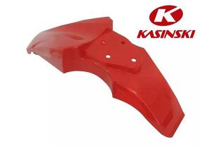 Paralama Dianteiro Kasinski Crz 150 Vermelho