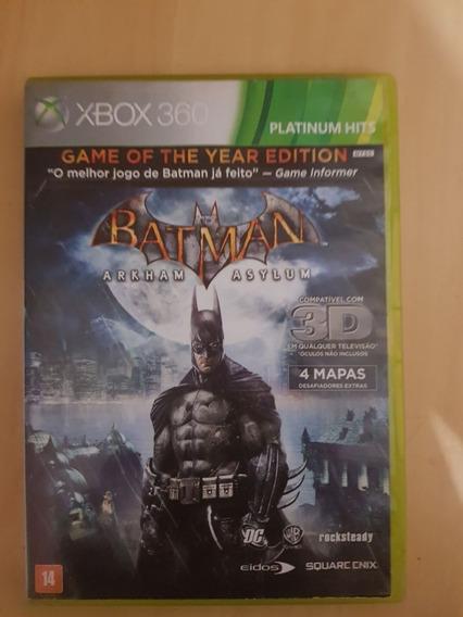 Batman Arkham Asylum Original Xbox 360