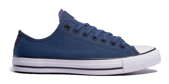 Zapatillas Converse Chuck Taylor All Star Lona Azul- 167440c