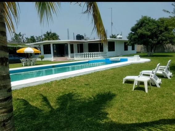 Quinta Teques Con Alberca Enorme, Hermosa Casa