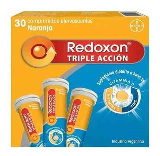 Bayer Redoxon Triple Acción 30 Comp Efervescentes Vitamina C