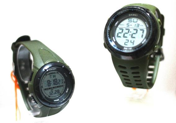 Relógios De Pulso Pague 1 Leve 2 Mais Brinde Chaveiro Hk47