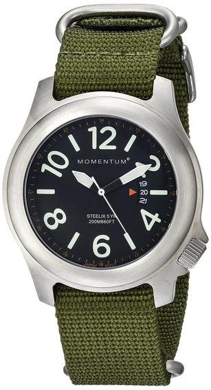 Reloj Deportivo Para Hombres Reloj De Nylon Steelix De Mome