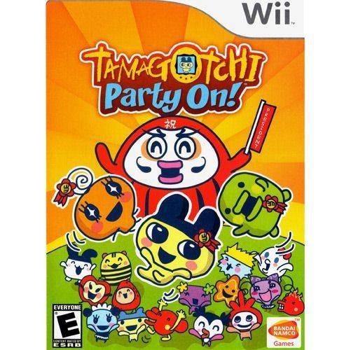 Jogo Tamagotchi Party On! Para Nintendo Wii Original Lacrado
