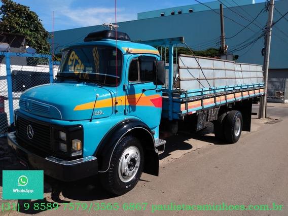 Mb 1113/1980 Motor 1620 Freio Ar Turbo Hidraulico