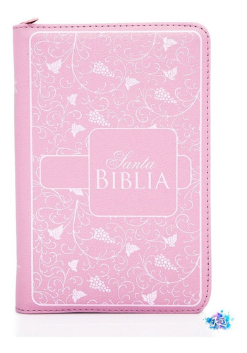 Santa Biblia Reina Valera 1960 Letra Grande Rosada