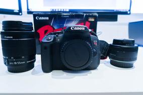 Canon T5i + 2 Lentes - Perfeita, De Se Apaixonar!