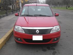 Renault Logan Rojo Vivo, Muy Buenas Condiciones, Único Dueño