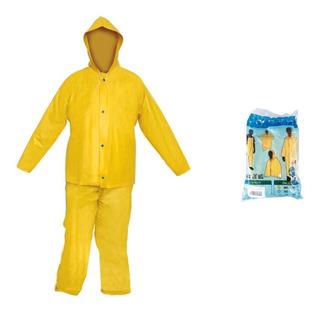 Conjunto Impermeable Pantalon Y Chaqueta Con Gorro Xxl (doble Extra Grande) + Envio