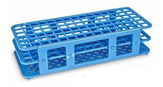 Estante Plástica Para Tubos De Ensaio 60x16mm